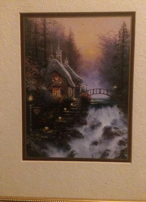 SIGNED THOMAS KINKADE!! SWEETHEART COTTAGE 2!! BRAND NEW!!! for Sale in Fort Lauderdale, FL