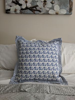Decorative Elephant Pillow for Sale in Greenville, SC