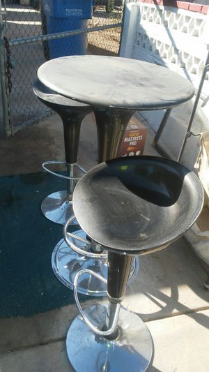 Bar stool and table set for Sale in Phoenix, AZ