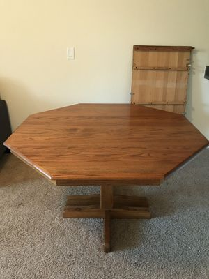 Solid wood dining table for Sale in Cardiff, CA