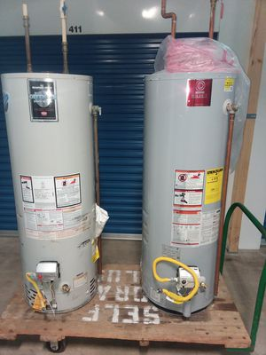 50 Gallon Gas Water Heaters For Sale for Sale in Beltsville, MD