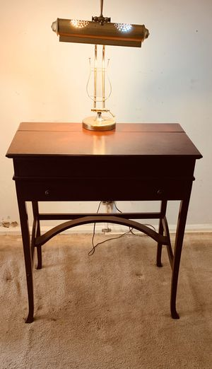Desk secretary 17th century style cherry for Sale in Whitehall, OH