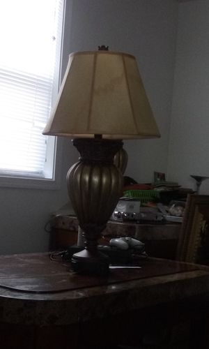 Two lamps for sale $10 a piece antique for Sale in Baltimore, MD