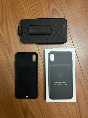 Apple iPhone XS Max Smart Battery Case w/ waist holster for Sale in Las Vegas, NV