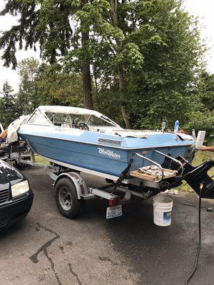 89 blue water boat for Sale in Buckley, WA