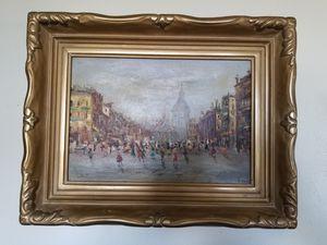 Antique Paris Painting for Sale in Seaside, CA