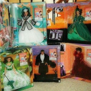 Barbie Dolls - Gone With The Wind Set Of 5 for Sale in Wildomar, CA