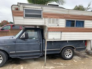 Truck and camper for Sale in Hacienda Heights, CA