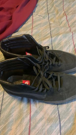 Black Vans Sk8-Hi Shoes // Size 13 for Sale in VLG WELLINGTN, FL