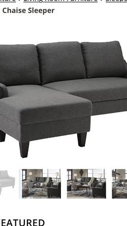 Pull Out Sofa Chaise (BRAND NEW IN BOX) for Sale in Columbus,  OH