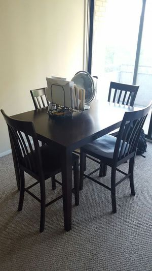 Dining table + 4 chairs for Sale in Rockville, MD