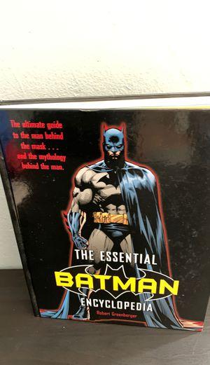 Batman Encyclopedia for Sale in Bellflower, CA