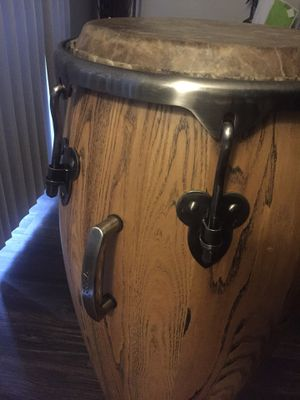 Congas 3 (tumba, conga, tumba) with cases for Sale in Houston, TX