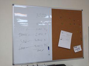 "Dry Erase Cork Board Combo 36"" x 24"" Bulletin Whiteboard for Homeschool Office ~Brand new~ for Sale in Alhambra, CA"