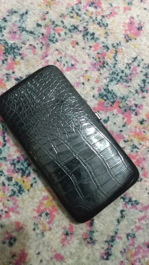 Black leather wallet for Sale in Sacramento, CA
