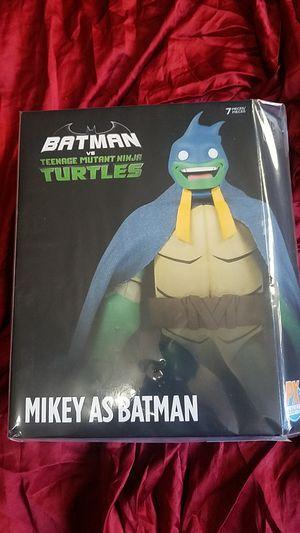 Batman vs TMNT: Mikey as Batman Figure. for Sale in Temple City, CA