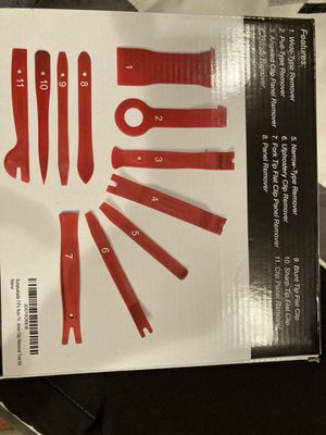 11 pc auto trim removal tool kit. for Sale in Westminster, CA
