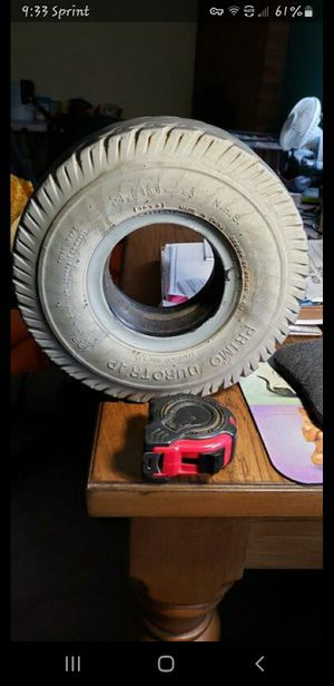 "Need Tires: 3.00-4, Bead Size 2.5"" Foam-Filled for Sale in Visalia, CA"