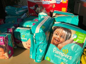 Lots of diapers for sale for Sale in Fairfield, CA