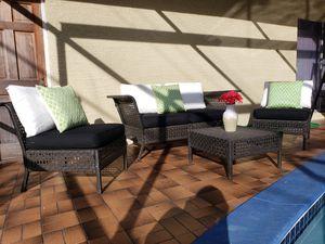 Patio furniture/outdoor furniture/patio set/outdoor set/patio seating set/muebles de patio balcon o terraza/balcony set. for Sale in West Park, FL