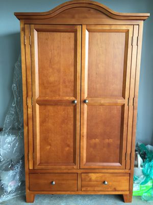 Cherry Hill Armoire, Solid cherry wood, never used for Sale in Fremont, CA