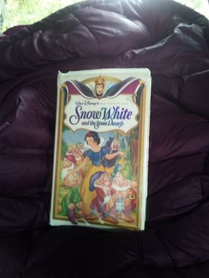 Walt DISNEY'S master piece collection snow white and the seven Dwarfs VHS 1524 for Sale in Auburn, WA