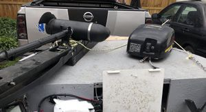 13.9 sea nymph aluminum boat all minkota motor for Sale in Akron, OH