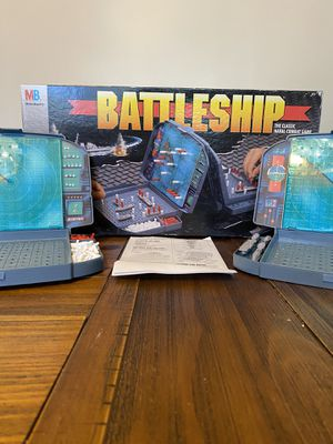 Battleship Vintage Board Game 1996 by Milton Bradley for Sale in Providence, RI