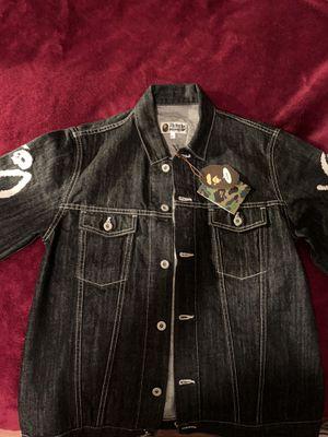 Bape XO Denim jacket for Sale in Rialto, CA