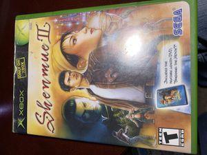 Shenmue 2 plus bonus dvd for Sale in West Columbia, SC