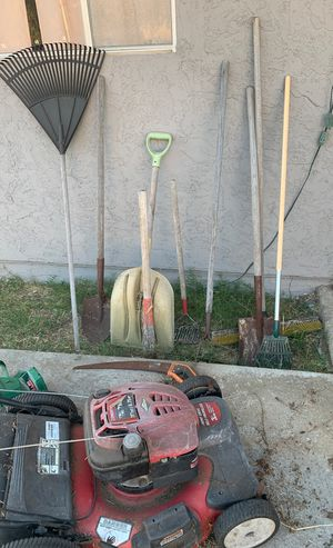 Lawn mower and tools for Sale in San Diego, CA