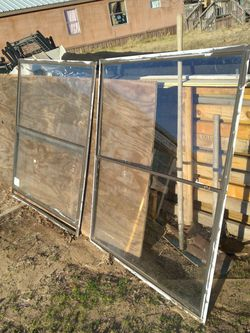 4 Window For Sale 46x53 $30 Dollar Piece for Sale in Fort Worth,  TX
