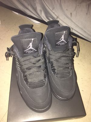 Jordan Retro 4 black cat for Sale in Burlington, NC