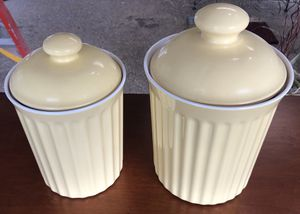 Kitchen Canisters (2) for Sale in Fresno, CA