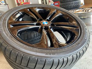 """19"""" BMW 3 series staggered rims and tires for Sale in Moreno Valley, CA"""