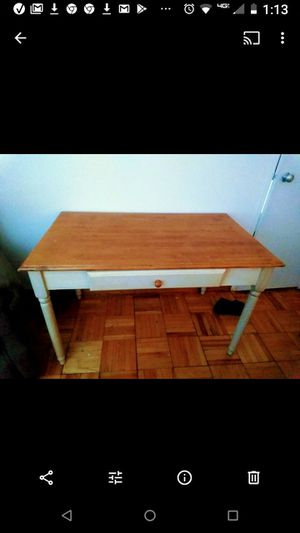 Lightly used Pure Knooty Pine Table for Sale in Washington, DC