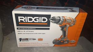 Cordless RIDGID 18v Drill for Sale in Portland, OR
