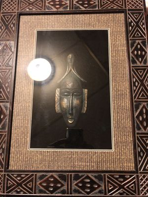 Antique frame & Buddha in glass!! for Sale in Philadelphia, PA