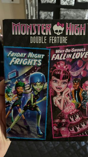Monster High double feature DVD for Sale in Las Vegas, NV
