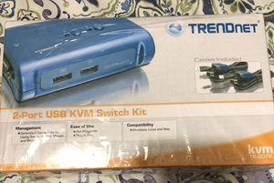 TRENDnet USB KVM SWITCH KIT for Sale in Lindale, GA