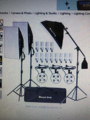 Mountdog 2400W photography lighting for Sale in Oakley, CA