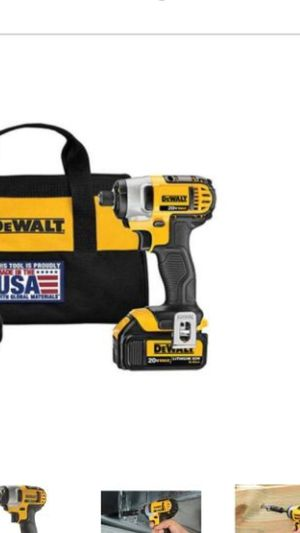 Dewalt impact drill. for Sale in Pooler, GA