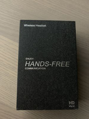 Hand free wireless headset with HD voice for Sale in Sacramento, CA