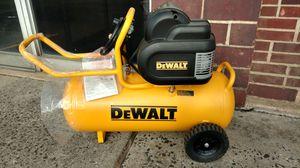 New never used 1.6 HP DEWALT air compressor for Sale in East Brunswick, NJ