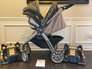 Chicco Bravo KeyFit 30 Travel System for Sale in Charlotte, NC