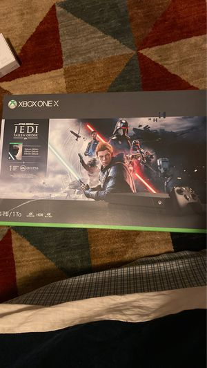 Xbox one X Jedi Fallen Order Bundle for Sale in Lakewood, CO