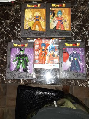 Dragon Ball Z Super collecting action figures for Sale in Springfield, MA