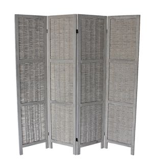4 Panel Room Divider, Grey, 7046GR for Sale in Norwalk, CA