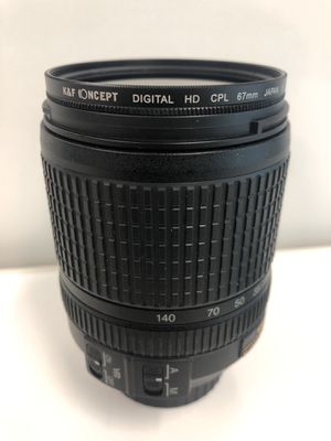 Nikon AF-S DX NIKKOR 18-140mm f/3.5-5.6G ED Vibration Reduction Zoom Lens with Auto Focus for Nikon DSLR Cameras for Sale in Hartford, CT
