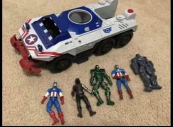 Captain America toys lot for Sale in Vancouver,  WA